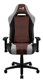 Silla Gamer Aerocool Baron Burgundy Red