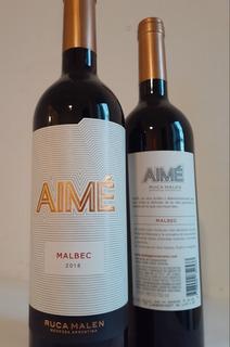 Vino Aime Malbec - Caja X 6 (750ml)