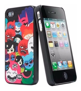Case Iskin Aura Happy Friends iPhone 4 E 4s
