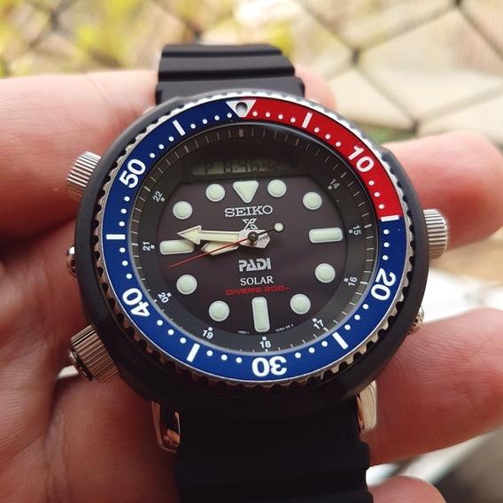 Relógio Seiko Arnie Snj027 Relançamento Novo P. Entrega