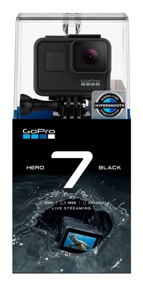 Camera Filmadora Digital Gopro Hero 7 Black 12mp 4k + Nf