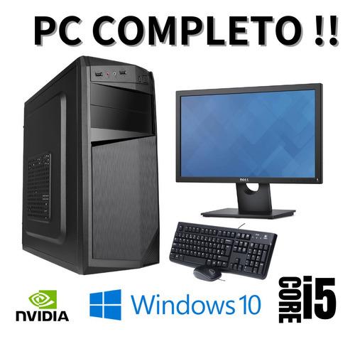 Imagem 1 de 1 de Pc Star Completo I5 8gb Hd 500 Win10 _ Monitor 19 Polegadas