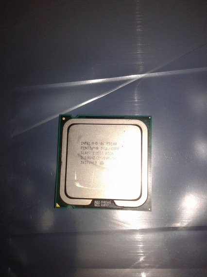 Processador Intel 775 Dual Core E5200 2.5 Ghz / 2 Mb /800