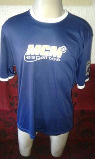 Camisa Mcm Do Campeonato De Futebol 7