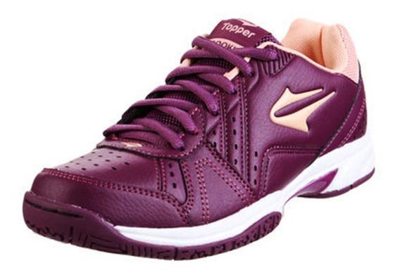 Zapatillas Topper Rookie Mujer Tenis Urbana Violeta Original
