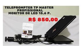 Teleprompter Tp Master Profissional, Minitor De Led 15,6 P.