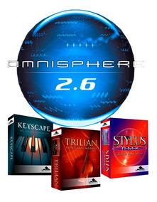 Omnisphere 2.3 + Keyscape, Trilian E Stylus Windows Ou Mac