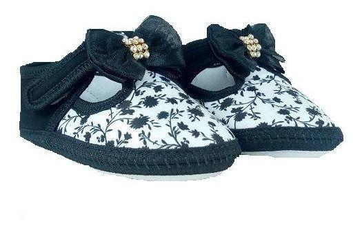 Sapato Keto Baby Fem. Laço