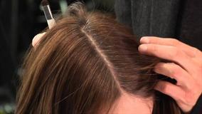Maquiagem/retoque Capilar/ Raiz- Roots Cover-castanho Medio
