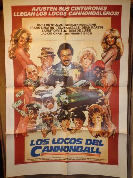 Los Locos Del Cannonball-multi-estelar Elenco-ver Fotos