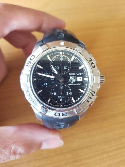 Relógio Tag Heuer Aquarecer Cap 2110 Automático Original