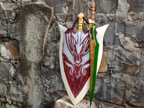 Escudo Medieval/ Rpg/ Fantasia/ Cosplay