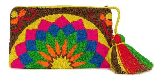 Sobre Wayuu Tapizado Cosmetiquera Artesania Hecho A Mano