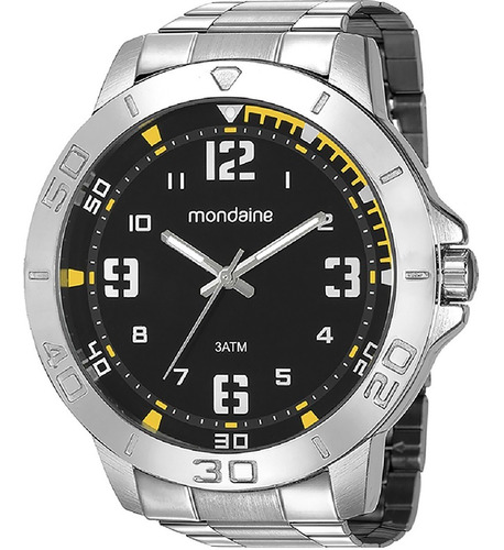 Relógio Masculino Mondaine Prata 99350g0mvne4