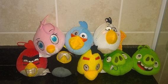 Angry Birds Pelúcia Coleção Completa Mc Donald