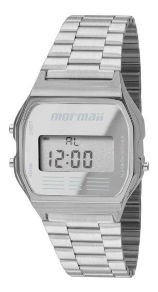 Relógio Mormaii Vintage Prata (estilo Cásio)