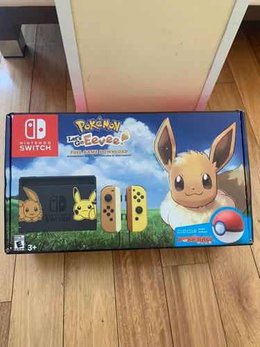 Nintendo Switch Pokemon Let Go Pikachu Pokemon Consola Usada