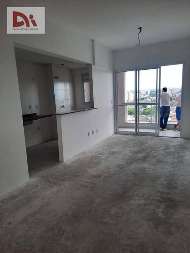 Imagem 1 de 17 de Apartamento Com 2 Dormitórios À Venda, 68 M² Por R$ 370.000,00 - Bosque Flamboyant - Taubaté/sp - Ap0308