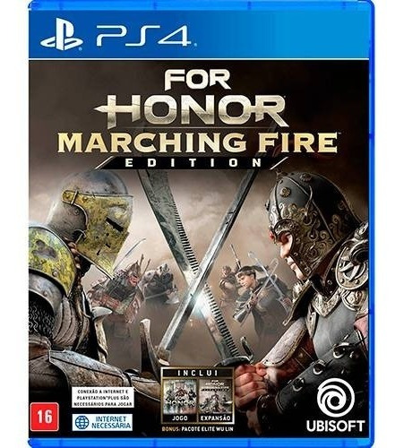 Jogo Ps4 For Honor Marching Fire Edition Pt-br Mídia Física