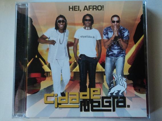 Cd-cidade Negra:hei, Afro!:reggae:original