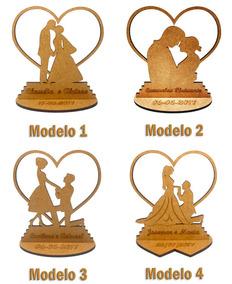 260x Lembrancinha Casamento Lbc-24 Modelos - Mdf Crú 10cm