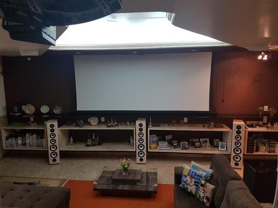 Tela De Projeção Cinemascope - Importada - Ótimo Preço!