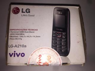 Celular Lg A210 Novo