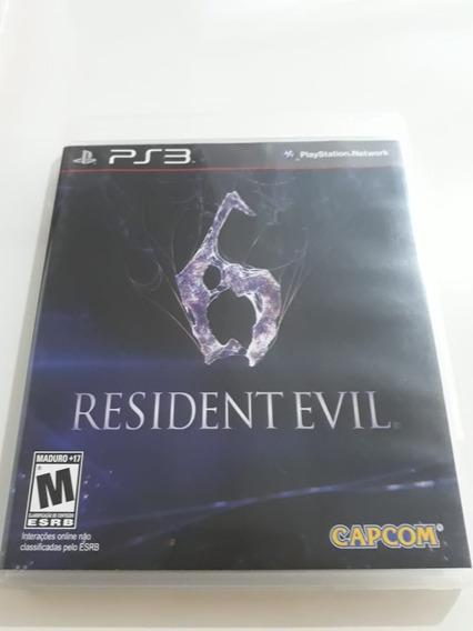 Resident Evil 6 Ps3 Mídia Física