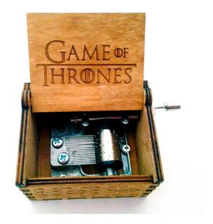 Caja Musical Game Of Thrones Cajita De Música