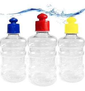 30 Squeezes Galão Em Pet Para Agua Suco Academia Festa
