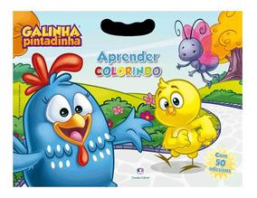 Livro Infantil - Galinha Pintadinha - Aprender Colorindo - C