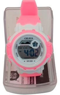 Reloj Para Correr Cronometro Sumergible Mujer Calidad Celica
