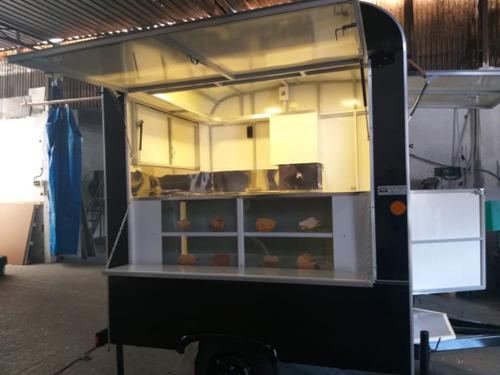 Food Truck Trailer - Sob Encomenda - Direto Da Fábrica  2021