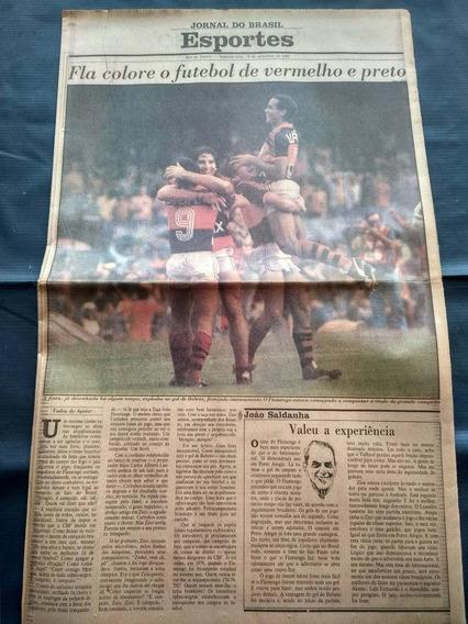 Flamengo Campeão Brasileiro 1987 - Jornal Do Brasil