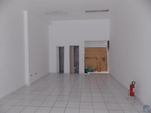 Imagem 1 de 8 de Salão Para Alugar, 110 M² Por R$ 3.000,00/mês - Centro - São José Dos Campos/sp - Sl0060