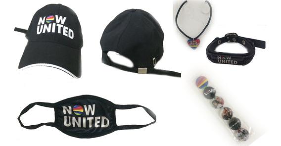 Bone Now United, Colar Now United+ Cartela Botton Now United