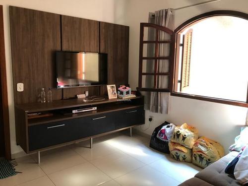 Casa À Venda, 3 Quartos, 1 Suíte, 2 Vagas, Piraporinha - Diadema/sp - 90458