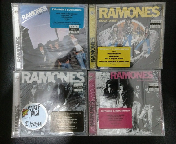 Ramones - Lote 4 Cd - Made In Usa