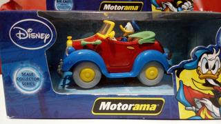 Carrinho Motorama Disney Pato Donald. Novo E Lacrado.