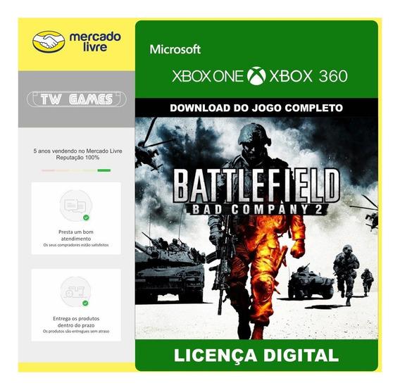 Battlefield Bad Company 2 Digital Retro Xbox One 360