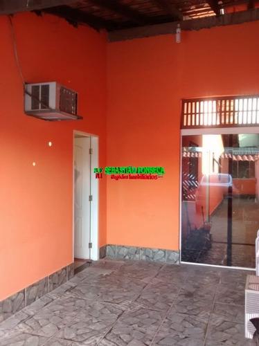 Casa Na Praia, 3 Dormitórios Em Caraguatatuba - 1039
