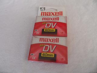 Maxell Mini Dv 30 Minutos Paquete De 2