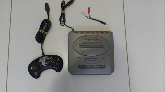 Mega Drive 3 Cinza 43 Jogos Na Memória Com Controle
