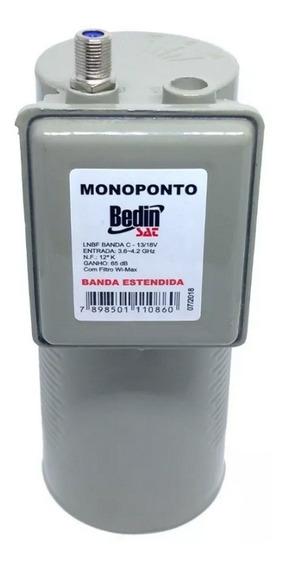 Lnbf Monoponto Banda Extendida Para Antena Parabólica