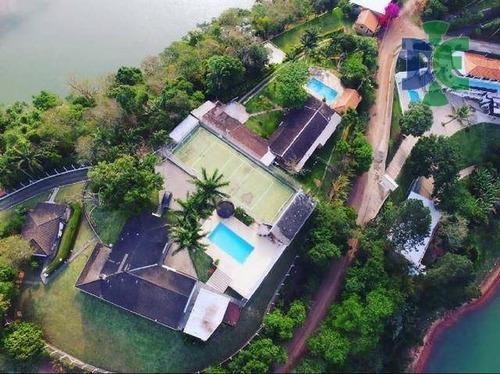 Chácara Com 7 Dormitórios À Venda, 4400 M² Por R$ 1.800.000 - Chácaras Condomínio Recanto Pássaros Ii - Jacareí/sp - Ch0006