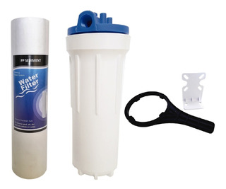 Carcasa 10 Pulgadas Cartucho Sedimentos Para Filtro De Agua