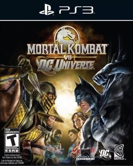 Jogo De Ps3 Mortal Kombat Vs Dc Universe Em Mídia Digital