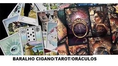 Tarot, Baralho Cigano E Oráculos