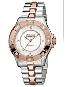 110dedc6fafb Reloj Roberto Cavalli By Frank Muller Diamond Bezel Ip Rose