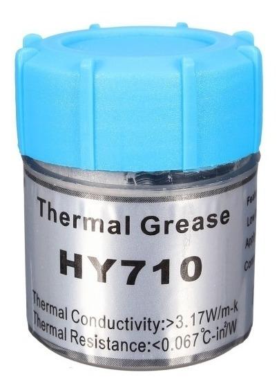 Pasta Térmica Prata Cinza Thermal Silver 10g Halnziye Hy710